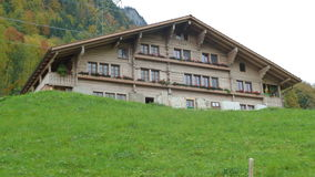 Traditioneel Zwitsers Huis, Bern Royalty-vrije Stock Foto's