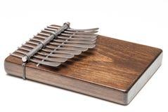 Traditionele Afrikaanse instrumentenkalimba of duimpiano Royalty-vrije Stock Afbeelding
