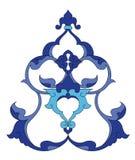 Traditionele antieke ottoman Turkse tegel illustrat vector illustratie