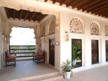Traditionele Arabische huizen bij Kreek 1 Royalty-vrije Stock Fotografie