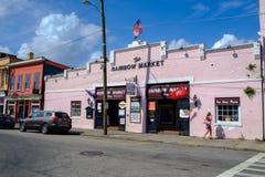 Traditionele architectuur in Charleston, Sc Stock Afbeelding