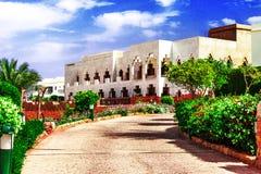 Traditionele architectuur in Egypte Stock Foto
