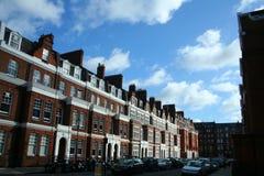 Traditionele architectuur in Londen Stock Foto