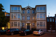 Traditionele architectuur van Sopot, Polen Stock Fotografie