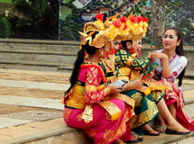 Traditionele Balinese danser royalty-vrije stock foto