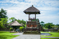 Traditionele Balinese Induzm-Tempel Bali Stock Foto