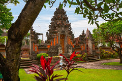 Traditionele Balinese tempel Royalty-vrije Stock Foto's