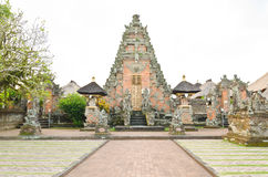 Traditionele Balinese tempel Stock Foto's