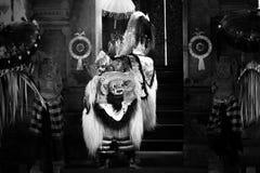 Traditionele Barong-Dans, Bali, Indonesië stock foto's