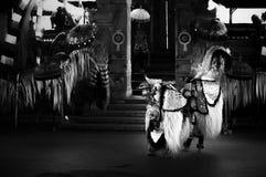 Traditionele Barong-Dans, Bali, Indonesië royalty-vrije stock afbeeldingen