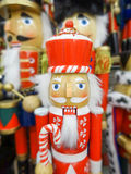 Traditionele Beeldjekerstmis Royalty-vrije Stock Fotografie