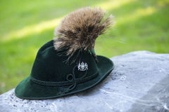 Traditionele Beierse hoed Royalty-vrije Stock Afbeelding