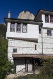 Traditionele Bulgaarse architectuur stock afbeeldingen