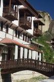 Traditionele Bulgaarse architectuur royalty-vrije stock afbeeldingen