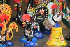Traditionele Ceramische Hanen stock afbeelding