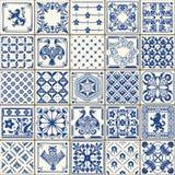 Traditionele Ceramische 05 Wijnoogst tweede vector illustratie