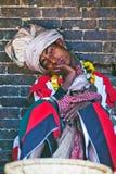 Traditionele ceremonie, Nepal Royalty-vrije Stock Afbeeldingen