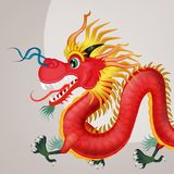 Traditionele Chinese draak vector illustratie