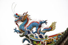 Traditionele Chinese draak royalty-vrije stock afbeelding