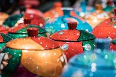 Traditionele Chinese funerary aspotten voor de gehouden van en de familie royalty-vrije stock afbeelding