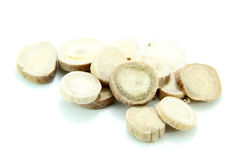 Traditionele Chinese Geneeskunde - Baishao (witte pioenwortel) Royalty-vrije Stock Foto