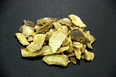 Traditionele Chinese Geneeskunde - Dang Gui (engelwortel) Stock Foto's