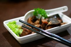 Traditionele Chinese keuken stock fotografie
