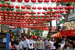 Traditionele Chinese lantens stock fotografie