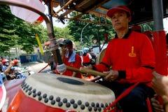 Traditionele Chinese muziek Stock Foto