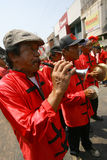 Traditionele Chinese muziek Stock Afbeeldingen