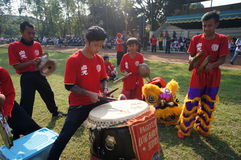 Traditionele Chinese muziek Royalty-vrije Stock Afbeeldingen