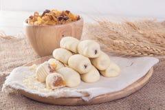 Traditionele Chinese scherpe koekjesananas stock afbeelding