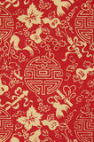 Traditionele Chinese stoffensteekproef stock afbeelding