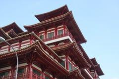 Traditionele Chinese tempel royalty-vrije stock fotografie