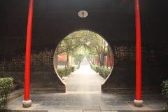 Traditionele Chinese Tuin royalty-vrije stock afbeelding