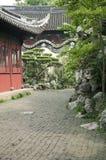 Traditionele Chinese tuin Stock Foto