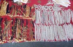 Traditionele & culturele ornamenten van Indische vrouwen Royalty-vrije Stock Afbeelding