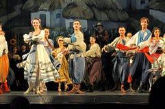 Traditionele dans, de Oekraïne royalty-vrije stock foto's