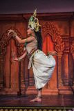Traditionele Dans in Kambodja stock foto's