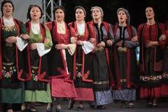 Traditionele dansen van Thrace Royalty-vrije Stock Fotografie