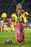Traditionele danser Royalty-vrije Stock Afbeeldingen
