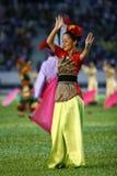 Traditionele danser Stock Fotografie