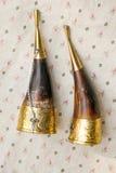 Traditionele decoratieve kleurrijke hoorn Royalty-vrije Stock Fotografie
