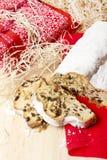 Traditionele Duitse bakkerij: Kerstmis van Dresden stollen Royalty-vrije Stock Fotografie