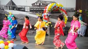 Traditionele Filippijnse Dans stock fotografie