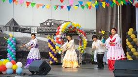 Traditionele Filippijnse Dans royalty-vrije stock foto