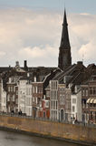 Traditionele gebouwen in Maastricht, Nederland Stock Fotografie