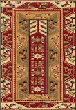 Traditionele Geometrische Etnisch oriënteert Antieke Tapijttextiel Royalty-vrije Stock Afbeelding