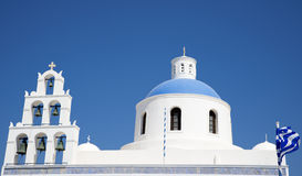 Traditionele Griekse kerk Royalty-vrije Stock Foto