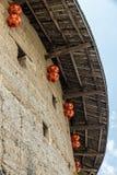 Traditionele hakka aarden huizen stock afbeeldingen